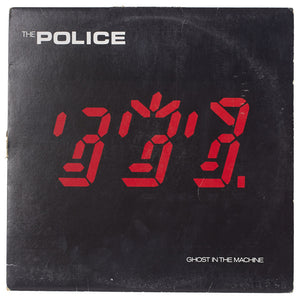 "The Police<br>Ghost In The Machine<br>12"" Vinyl Clock"