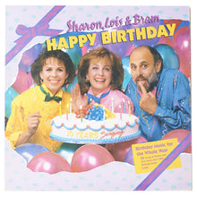 Sharon, Lois & Bram - Happy Birthday Vinyl LP Clock