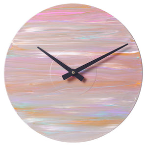 Original Handpainted Vinyl Record Clock
