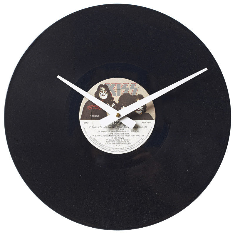 KISS - Dynasty - Authentic Vinyl Clock Made From Original LP Record