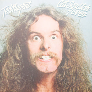 "Ted Nugent <br>Cat Scratch Fever <br>12"" Vinyl Clock"