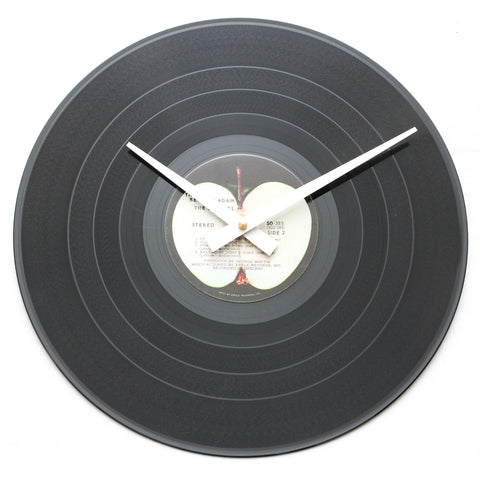 "The Beatles <br>Hey Jude/Beatles Again<br>12"" Vinyl Clock"