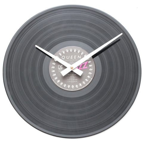 "Queen<br> Jazz<br> 12"" Vinyl Clock"