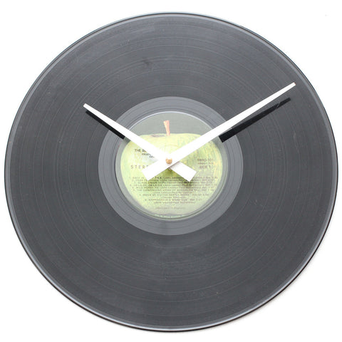 "The Beatles<br> White Album<br> 12"" Vinyl Clock"