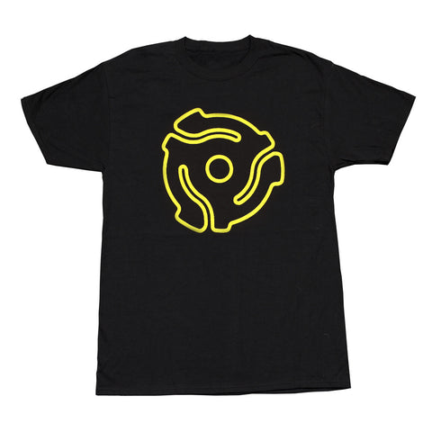 Yellow Stenciled <br>45 Spacer Original<br>T-Shirt Design
