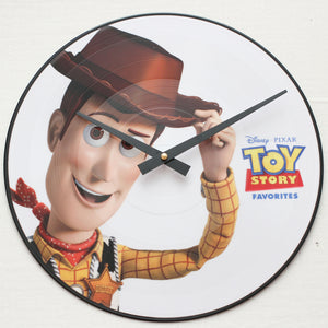 "Toy Story<br> Soundtrack<br> 12"" Vinyl Clock"