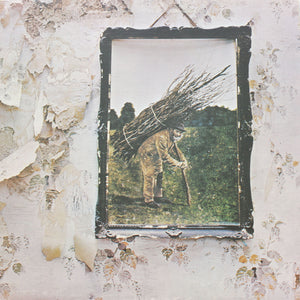 "Led Zeppelin<br> IV<br> 12"" Vinyl Clock"