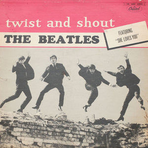 "The Beatles <br>Twist And Shout <br>12"" Vinyl Clock"