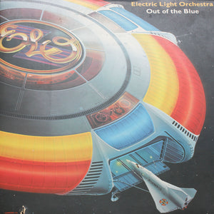 "Electric Light Orchestra<br> Out Of The Blue <br>12"" Vinyl Clock"