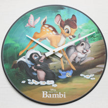 "Bambi<br> Official Soundtrack <br>12"" Vinyl Clock"