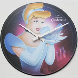 "Cinderella<br> Official Soundtrack <br>12"" Vinyl Clock"