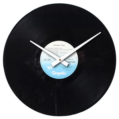 Pat Benatar - Precious Time - Authentic Vinyl Clock Made From Original LP Record