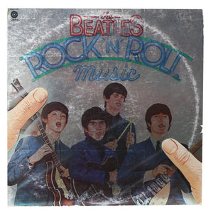 The Beatles - Rock n' Roll Music Record 1 - Handmade Authentic Vinyl Clock From Original LP Record