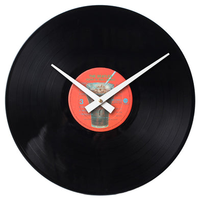 The Beatles - Rock n' Roll Music Record 2 - Handmade Authentic Vinyl Clock From Original LP Record
