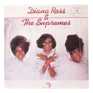 "Diana Ross & The Supremes<br>Record 1<br>12"" Vinyl Clock"