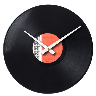 American Graffiti - Soundtrack Record 2 - Handmade Authentic Vinyl Clock From Original LP Record