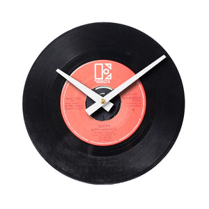 "Queen - Body Language 7"" 45 RPM Single - Handmade Vinyl Record Clock Using Original 45"