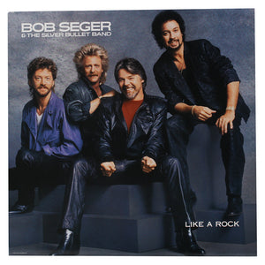 "Bob Seger<br> Like A Rock<br> 12"" Vinyl Clock"