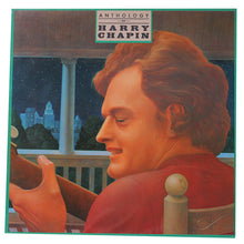 Harry Chapin - Anthology Of... - Handmade Authentic Vinyl Clock From Original LP Record