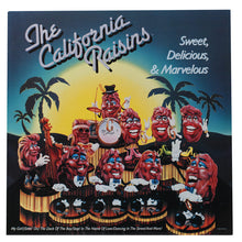"The California Raisins<br>Sweet, Delicious & Marvelous<br>12"" Vinyl Clock"
