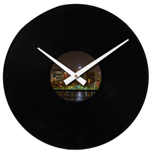 "Design Your Own<br> Custom Made <br>12"" Vinyl Clock"