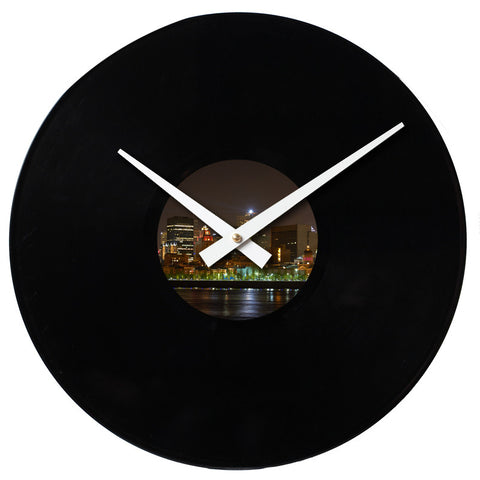 "Design Your Own<br>Custom Made<br>12"" Vinyl Clock"