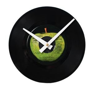 "George Harrison - My Sweet Lord - 7"" 45 RPM Single - Handmade Vinyl Record Clock Using Original 45"