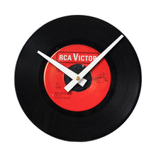 "Elvis Presley Big Boss Man - 7"" 45 RPM Single - Handmade Vinyl Record Clock Using Original 45"
