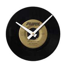 "Bill Withers - Ain't No Sunshine 7"" 45 RPM Single - Handmade Vinyl Record Clock Using Original 45"