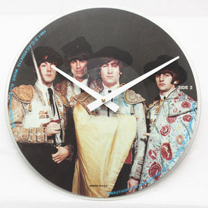 "The Beatles<br> Timeless Interviews <br>12"" Picture Vinyl Clock"