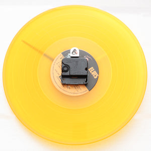 "Elvis Presley <br>Golden Records<br> 12"" Yellow Vinyl Clock"