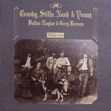 Crosby, Stills, Nash & Young - Deja Vu - Handmade VInyl Clock From Original LP Record