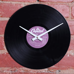 The Beatles - Revolver - Handmade Authentic Vinyl Clock