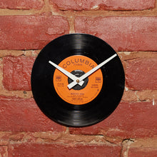 "Janis Joplin - Mercedes Benz 7"" 45 RPM Single - Handmade Vinyl Record Clock Using Original 45"
