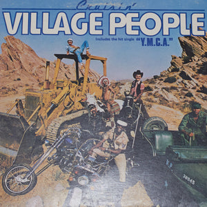 Village People - Cruisin' - Authentic Vinyl Record Clock Made From Original LP Record