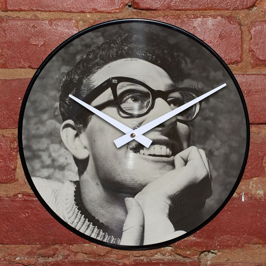 Buddy Holly - Photo Vinyl - Authentic Vinyl Record Clock Made From Original LP Record