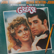 Grease – Original Soundtrack – Handmade Vinyl Clock Made From Original LP Record