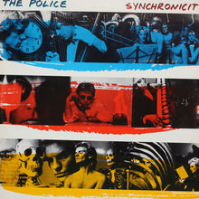 The Police - Synchronicity - Authentic Vinyl Clock Made From Original LP Record