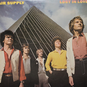Air Supply - Lost In Love - Handmade Vinyl Record Clock Using Original LP