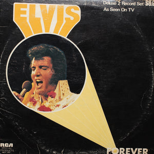Elvis Presley - Elvis Forever Record 1 - Authentic Vinyl Clock Made From Original LP Record
