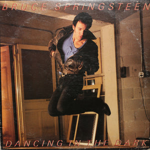 "Bruce Springsteen - Dancing In The Dark 12"" Single - Authentic Vinyl Clock Made From Original LP Record"