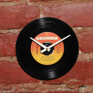 "Pink Floyd - Don't Leave Me Now 7"" Single - Handmade Vinyl Record Clock Using Original 45"
