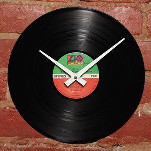 AC/DC - If You Want Blood - Handmade Vinyl Record Clock Using Original LP
