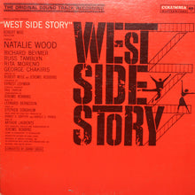 West Side Story - Original Soundtrack - Handmade Authentic Vinyl Clock From Original Record