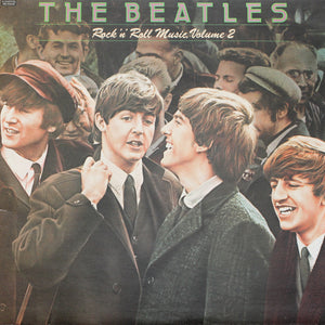 "The Beatles <br>Rock 'n' Roll Music Vol. 2<br> 12"" Vinyl Clock"