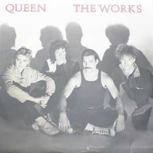 "Queen<br> The Works<br> 12"" Vinyl Clock"