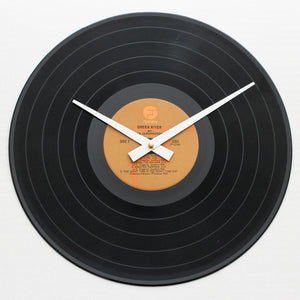 "CCR <br>Green River <br>12"" Vinyl Clock"