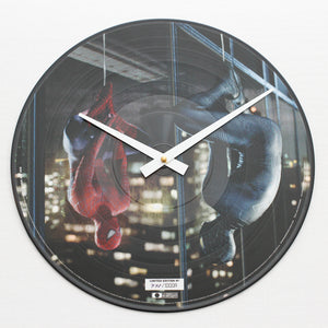 "Spider Man 3<br> Limited Edition Official Soundtrack <br>12"" Vinyl Clock"