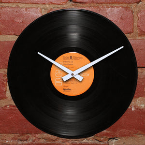 David Bowie - David Live Record 2 - Authentic Vinyl Clock Made From Original LP Record
