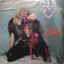 Twisted Sister - Stay Hungry - Authentic Vinyl Clock Made From Original LP Record